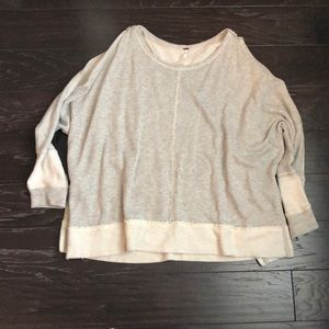 Free People Oversized pullover